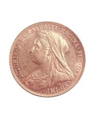 One Sovereign Queen Victoria of England